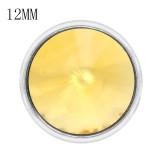 12MM snap nov. Naissance pierre jaune KS7041-S snaps interchangeables bijoux