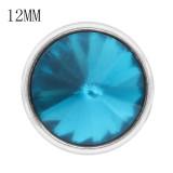12MM snap Dec.birthstone cyan KS7042-S Snaps interchangeables bijoux
