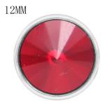 12MM composant logiciel enfichable Jan. Birthstone rouge foncé KS7031-S bijoux interchangeables