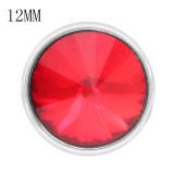 12MM snap juil. Naissance pierre rouge KS7037-S bijoux interchangeables