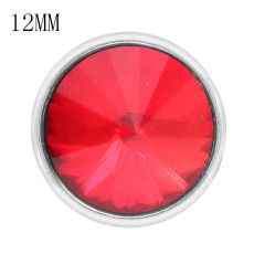 12MM snap Jul. Birthstone red KS7037-S broches intercambiables joyería