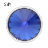 12MM snap sept. Pierre de naissance bleu KS7039-S bijoux interchangeables