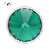 12MM snap May Birthstone vert KS7035-S Snaps interchangeables bijoux