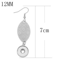 snap Earrings fit 12MM snaps style jewelry KS1282-S