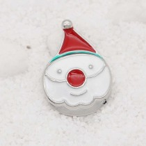 20MM Christmas design Snowman  snap Plating KC9109 snaps jewelry