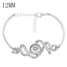 Snap bracelet Adjustable fit 12MM snaps jewelry KS1286-S
