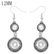 snap Earrings fit 12MM snaps style jewelry KS1288-S