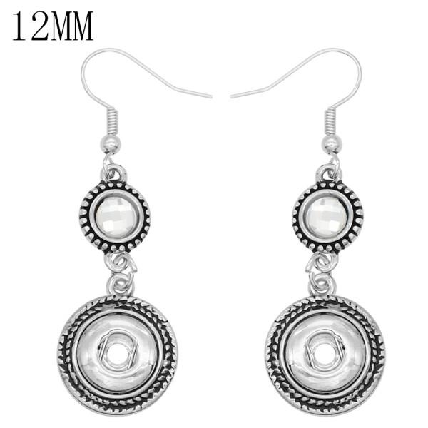 boucles d'oreilles snap fit 12MM snaps style bijoux KS1288-S
