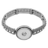 металлический браслет fit 18 & 20MM защелки кусочки 1 кнопки защелки ювелирные изделия KC0894