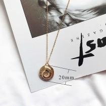 Conque Ocean-style métal doré TA3106 46CM nouveau type Collier mode Bijoux
