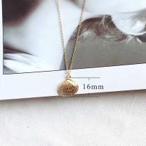 Coquille Ocean-style métal doré TA3113 46CM nouveau type Collier mode Bijoux