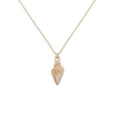 Conque Ocean-style métal doré TA3111 46CM nouveau type Collier mode Bijoux