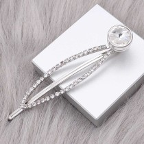 hairpin snap sliver Pendant   fit 12MM snaps style jewelry KS0378-S