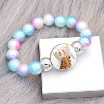 bracelets de style junior de perles colorées Fit 18 / 20mm s'enclenche chunks CH3022