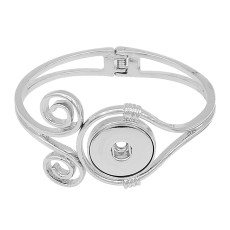 1 buttons snap sliver bracelet fit snaps jewelry KC0519