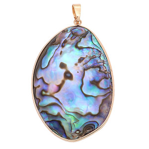 Abalone Shells  Pendant of necklace  fashion  jewelry style