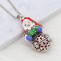 Christmas Necklace Angel Caller ring ball cage pendant  fit 16mm balls X'mas gifts