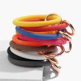 оранжевый Силикагель Большой браслет-кольцо Брелок Брелок браслет