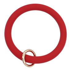 темно-красный Силикагель Браслет-брелок Брелок Брелок браслет