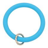 синий Силикагель Большой браслет-кольцо Брелок Брелок браслет