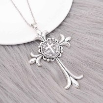 20MM cross Round metal silver plated snap with White rhinestone KC9271 charms snaps jewelry