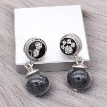 snap Earrings fit 12MM snaps style jewelry KS1296-S