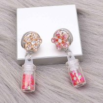 snap Earrings fit 12MM snaps style jewelry KS1297-S