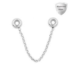 Breloque perles en acier inoxydable Partnerbeads