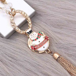 Christmas 20MM Snowman snap gold Plated  enamel KC8104 charms snaps jewelry
