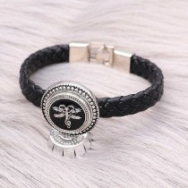 20MM Dragonfly snap silver Plated with Black enamel charms KC9301 snaps jewerly