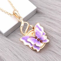 snap Fashion gold pendant fit 20MM snaps style jewelry KC0480
