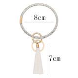 С белыми стразами большой браслет кольцо брелок брелок кисточкой браслет