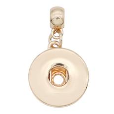 оснастка мода золотой кулон подходит 20MM стиль защелки ювелирные изделия KC0481