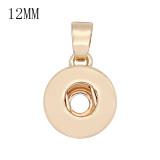bouton pression pendentif en or avec pendentif fit 12MM style bijoux KS0380-S