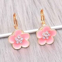 12MM Snap Gold Plated Earrings Charms KS1304-S schnappt schmuck
