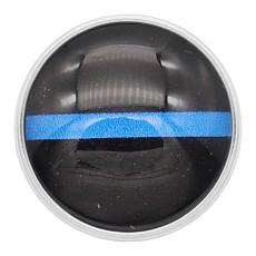 20MM rastet aus schwarzem Glas Design KC2211 austauschbar blau