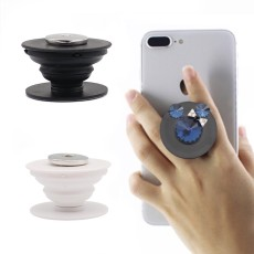 Swappable Grip fit Snap jewelry for Phones & Tablets like popsockets popgrip black KC1228