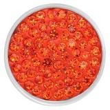 20mm schnappt orange Strasssteine Chunks Poppers mit High Quality Bottom
