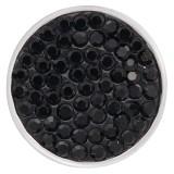 20mm schnappt schwarze Strasssteine Chunks Poppers mit High Quality Bottom