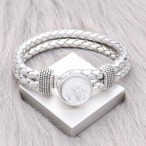 20MM design snap Silver Plated silver Thread KC2219