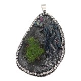 Natural Secret Garden Stone Colgante de collar