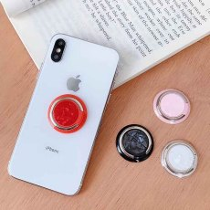 Swappable Grip fit jewelry for Phones & Tablets like popsockets popgrip white TA6031