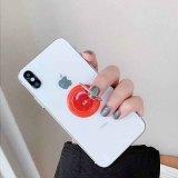 Swappable Grip fit bijoux pour téléphones et tablettes comme popsockets popgrip Red TA6029