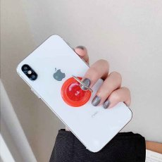 Swappable Grip fit jewelry for Phones & Tablets like popsockets popgrip Red TA6029