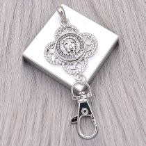 20MM Lion snap Silver Plated charms KC9371 snaps jewerly