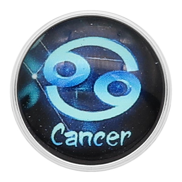 20MM Cancer snap 12constellations verre KC2236