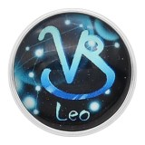 20MM Leo snap 12constellations verre KC2237