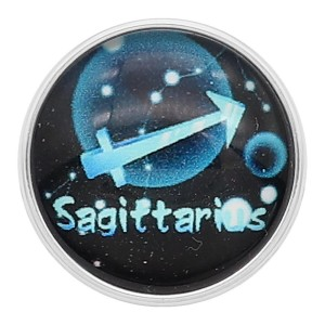 20MM Sagittarius snap 12constellations glass KC2241