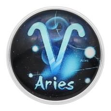 20MM Ariesスナップ12星座ガラスKC2233