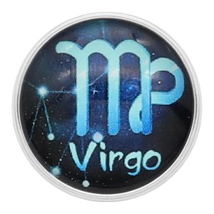 20 MM Virgo Snap 12 Konstellationen Glas KC2238